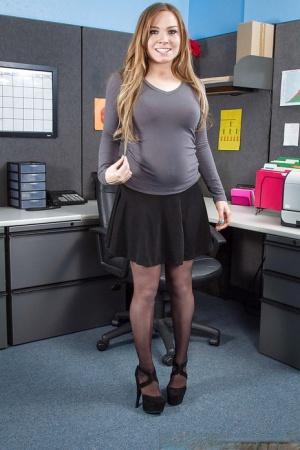 Teen In Office Pics